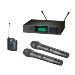 Audiotechnica Tack mit Sender und Empfänger