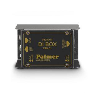 Produktbild einer DI BOX von Palmer mit der Ansicht von der Front